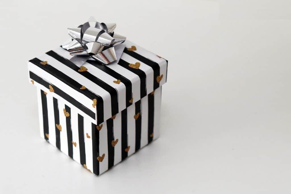 חבילה ארוזה יפה